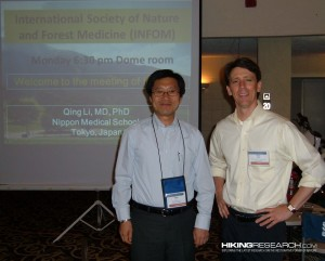 Qing Li and Mark Ellison hosting the first North American INFOM meeting.