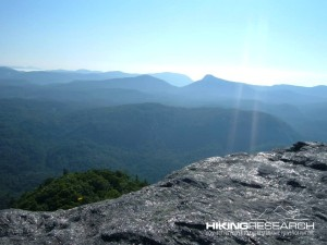View from Devil's Courthouse at Whiteside Mountain (Highlands, NC, USA).  Photo by Mark Ellison