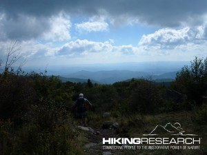 Hiking on the Appalachian Trail Photo by Mark Ellison