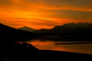 Sunrise at Rara Lake, Western Nepal Photo courtesy of The Great Himalaya Trail Development Programme